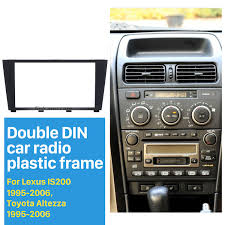 lexus is200 year 2000 2din 1995 2006 lexus is200 is300 toyota altezza car radio fascia