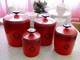 ceramic kitchen canister set kitchen kitchen canister sets ceramic vintage glass