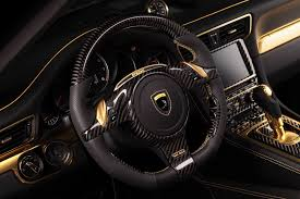 gold porsche convertible porsche 911 turbo stinger gtr by topcar has 24k gold interior