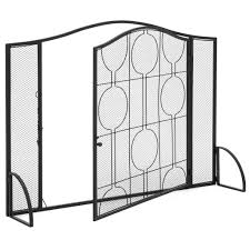 steel fireplace frame mesh u2013 best choice products