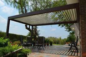 Wall Awning Interesting Wall Mounted Pergola With Retractable Awning Screen