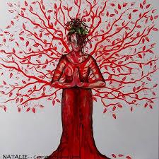 goddess tree painting s garden