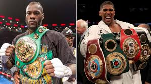 Challenge Lad Bible Deontay Wilder Issues Statement Accepting Anthony Joshua S