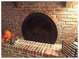 half round glass fireplace doors adding fireplace glass doors