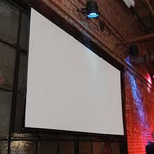 Backyard Projector Screen by Elite Screens Diy Pro Outdoor Projector Screens Various Sizes Pro Diy