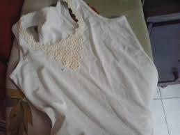 Top Camiseta customizada em renda de flores no Elo7 | Fuxicosal (4A1122) @UL14