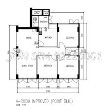 Hdb 4a Interior Design Hdb History Photos And Floor Plan Evolution 1930s To 2010s