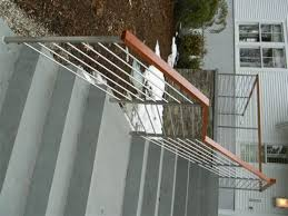 Stainless Steel Banister Rail Ledgerock Custom Metal Fabricators U2013 Polished Metal Stainless