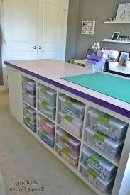 diy craft table ikea craft table ikea home design ideas 5 stacked ikea bookshelves in
