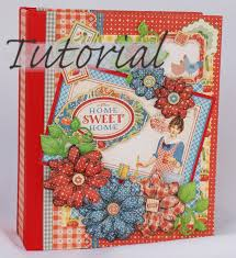 make a photo album terry s scrapbooks home sweet home mini album tutorial
