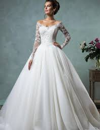 robe mariã e manche longue don de mariée robe de novia 2016 pas cher vintage robes de mariée
