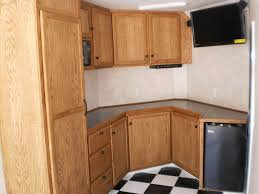 race car trailer cabinets r and p carriages enclosed trailer cabinet options