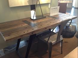 Crate And Barrel Desk by Cool Looking Table Or Desk U2013 Crate And Barrel Decorassistant To
