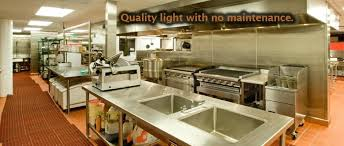 Commercial Kitchen Lighting Commercial Kitchen Led Lighting Fixtures Kitchen Design Ideas Led