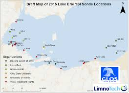 Lake Erie Map Lake Erie Algal Bloom Monitoring Network Shaping Up After Toledo