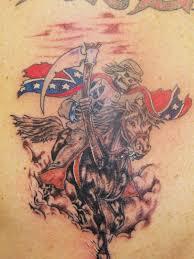rider tattoo