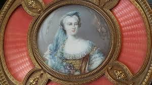 Gilt Bonze Enameled Portrait Antique Powder Jar W Miniature Portrait Guilloche Enamel