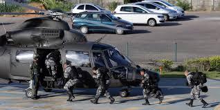 some brazil police break strike following wave of homicides
