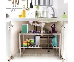 menager cuisine meuble etaga re sous evier modulable galerie avec étagère