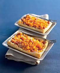 cuisiner le potiron recette tarte potiron oignons confits au miel