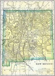 New Mexico State Map by New Mexico Genealogy U2013 Access Genealogy