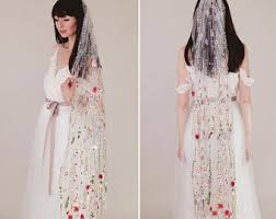 wedding dresses with bows wedding dresses etsy