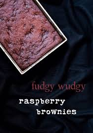 Brownies By Hervé Cuisine Http One In The Kitchen Fudgy Wudgy Raspberry Brownies