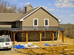Insulation Blanket Under Metal Roof by Standing Seam Metal Roof Archives Hugh Lofting Timber Framing