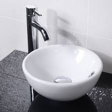 wide basin bathroom sink the cora countertop bowl is a stunning round basin and is ideal for