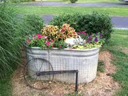 metal trough planter boxes u2014 farmhouse design and furniture