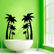 palm tree wall decals beach trees bath palms vinyl sticker palm palm tree wall decals beach trees bath palms vinyl sticker