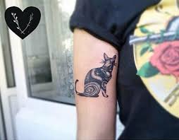 cat tattoos for days