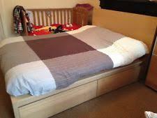 ikea malm double bed frame ebay