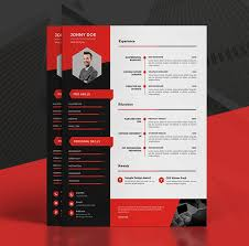 resume portfolio template professional resume template cover letter for ms word modern cv