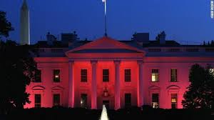 pretty in pink the white house is lit for breast cancer awareness