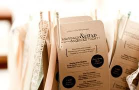 best wedding programs 25 memorable wedding programs from etsy