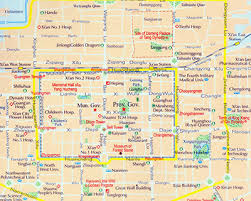 map of xi an xian travel guide attractions weather transportation hotels