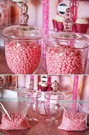Pink Wedding Candy Buffet by Beautiful Bridal Wedding Candy Buffets