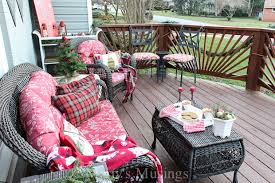 Outdoor Christmas Decorations Ideas On A Budget by Inexpensive Deck Decorating Ideas For Christmas Marty U0027s Musings