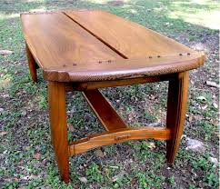 mission coffee tables craftsman arts and crafts stickley style
