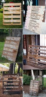 themed signs 2017 wedding trends 36 rustic wood themed wedding ideas