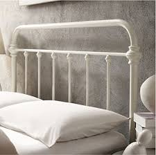 Antique Headboard And Footboard Inspire Q Giselle Antique White Graceful Lines Victorian Iron
