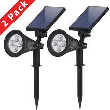 V Landscape Lights - bcp solar lights spotlight outdoor landscape lighting waterproof