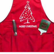festive length merry tree apron 12 99 buy