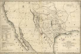 Mexico Map 1800 Maps Of 19th Century America