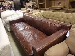 Restoration Hardware Kensington Leather Sofa Restoration Hardware Sofa Restoration Hardware Tan Leather Sofa