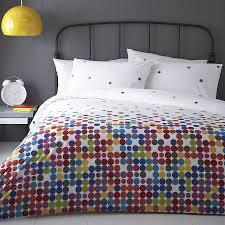 anime multi colour polka dot duvet cover set by marquis u0026 dawe