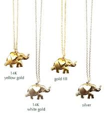 jewellery charm necklace images Elephant heart charm necklace jpg