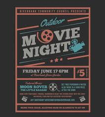 family movie night flyer template night party flyer templates 27