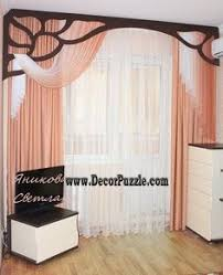 Curtain Style Contemporary Red Curtain Style 2015 For Living Room Modern